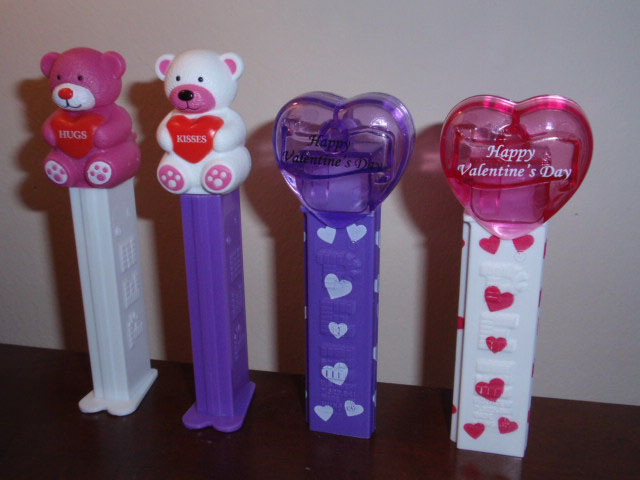 2012 Pez Valentine's Day dispensers