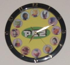 The Pez Clock