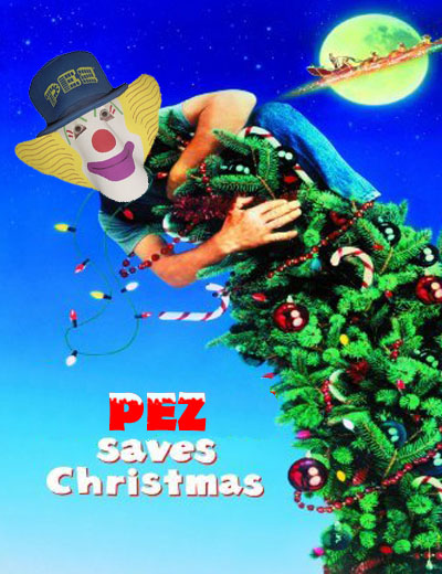 Pez Saves Christmas